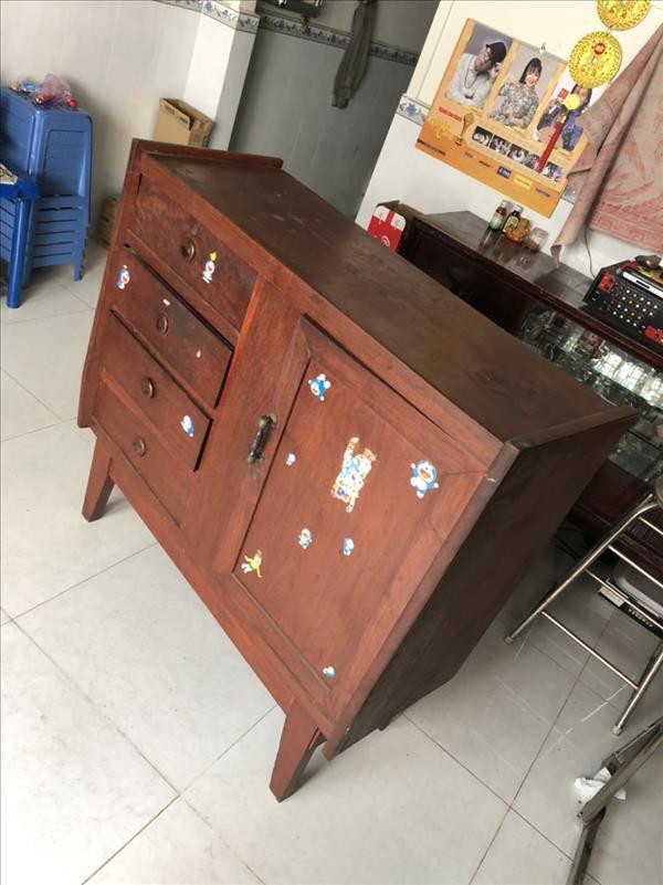 Tủ quần áo gỗ tự nhiên SP012125