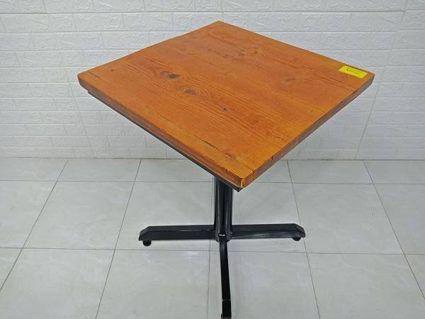 Bàn cafe gỗ cao su cũ SP007081.1