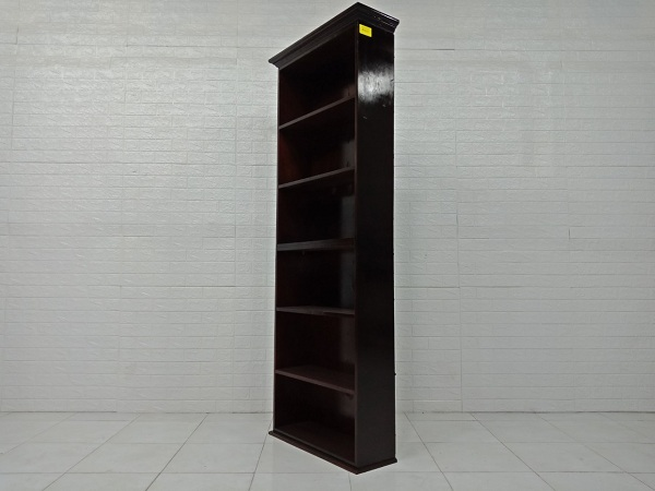 Kệ sách gỗ cao su cũ SP000371