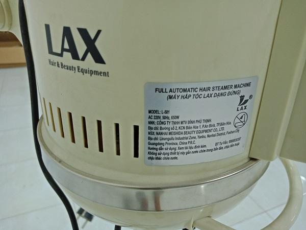 Máy hấp tóc LAX L501 cũ