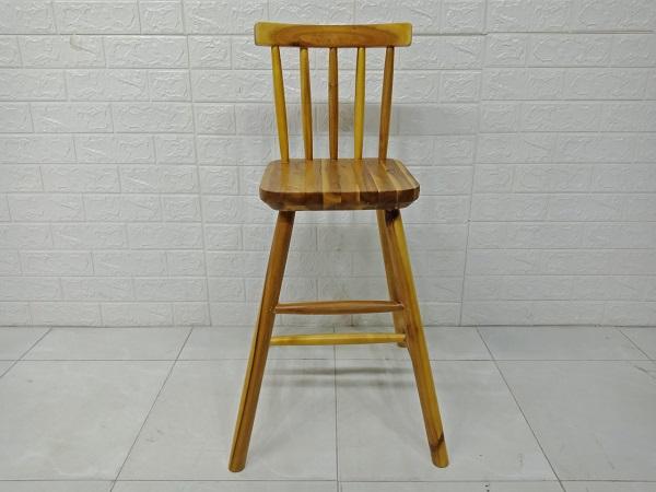 Ghế ăn gỗ cao su cũ SP007394