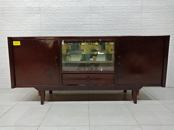 Tủ búp phê gỗ còng cũ SP007237
