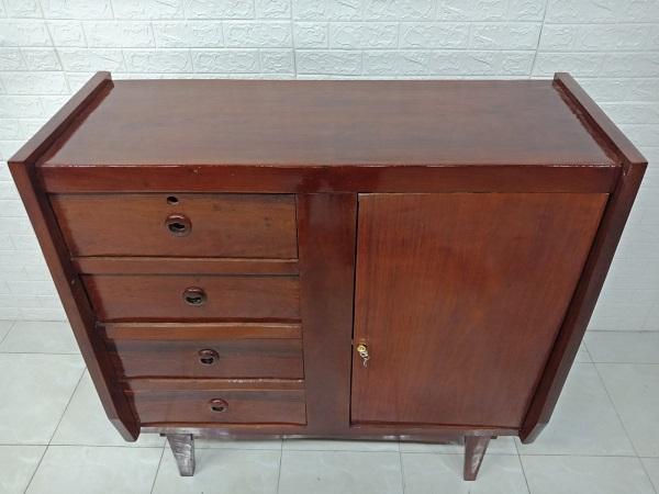Tủ commost gỗ Giáng Hương cũ SP007325