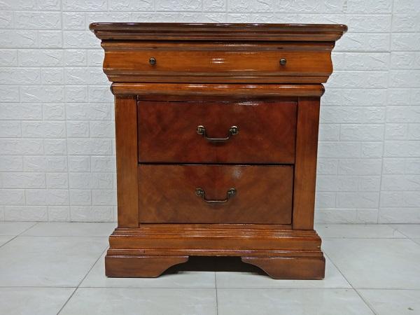 Tủ đầu giường gỗ Xoan đào cũ SP007443