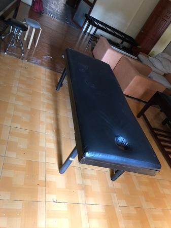 Giường massage chân sắt SP012555