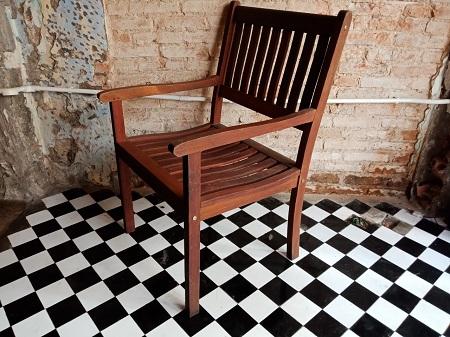 Ghế cafe cũ  SP012635