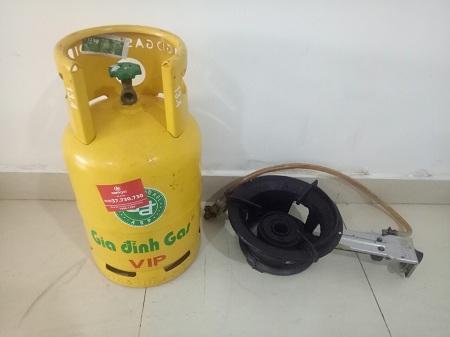 Bếp khè+ bình gas  SP012573