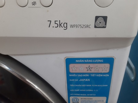 Máy giặt Samsung 7.5 Kg WF9752SRC cũ SP015318
