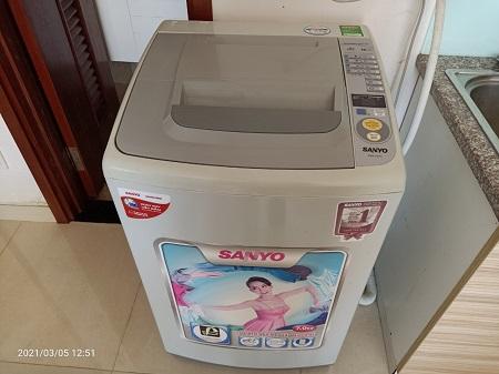 Máy giặt  Sanyo 7.0 Kg ASW-S70KT cũ SP015343