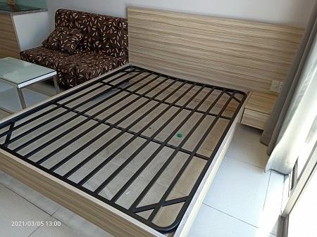 Giường gỗ MDF  cũ SP015347