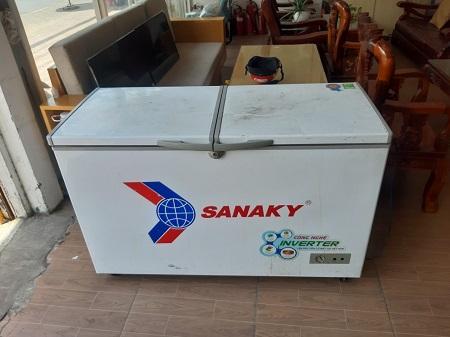 Tủ đông inverter SANAKY 305 Lít Vh-4009A3 cũ SP015523
