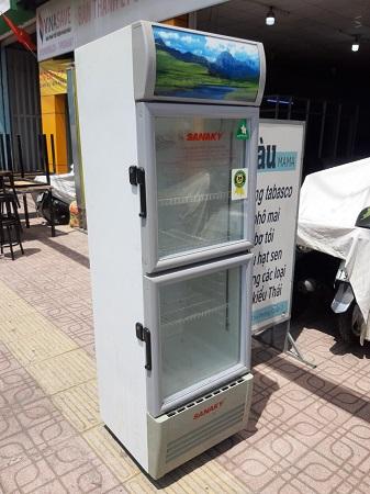 Tủ mát  SANAKY 250 Lít VH-258W cũ SP015524