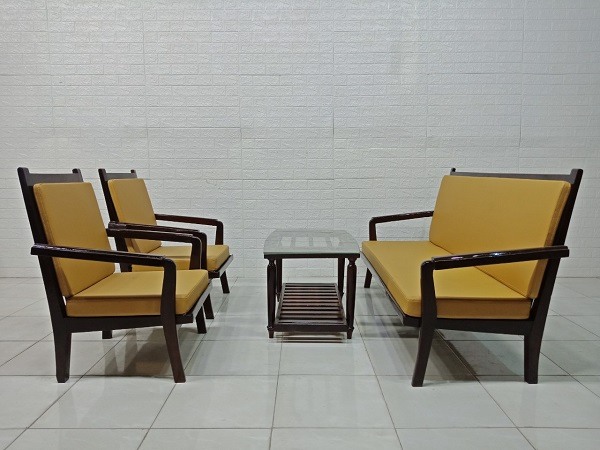 Bộ sofa gỗ cũ SP005652