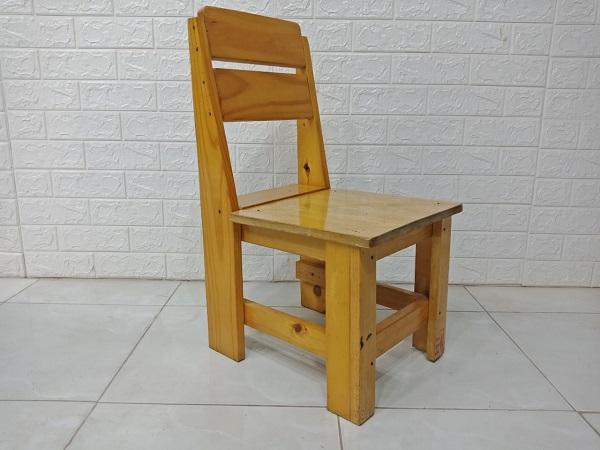 Ghế cafe gỗ thông cũ SP007812.1