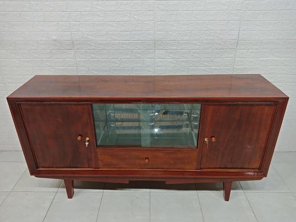 Tủ búp phê gỗ Gõ đỏ cũ giá rẻ SP007397