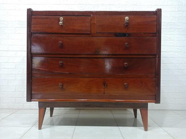 Tủ quần áo commost gỗ Gõ đỏ cũ SP007592
