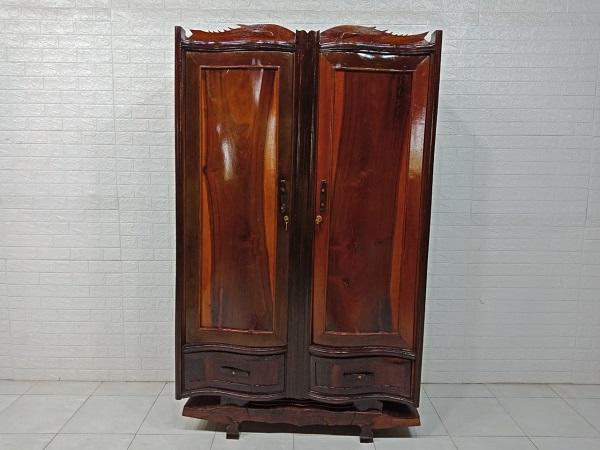Tủ quần áo gỗ cũ SP007840