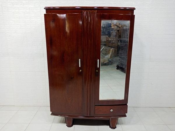 Tủ quần áo gỗ Gõ đỏ cũ SP007700