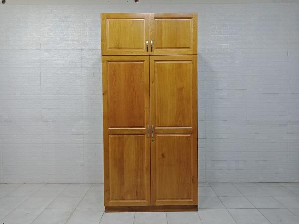 Tủ quần áo gỗ Sồi mỹ cũ SP007576.1
