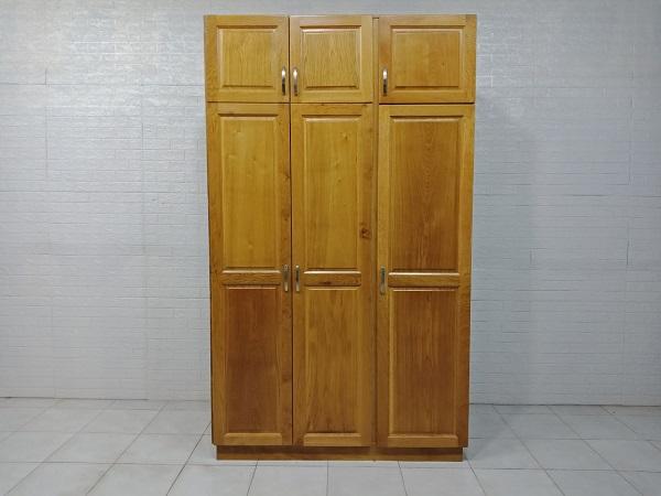 Tủ quần áo gỗ Sồi mỹ cũ SP007576