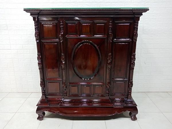 Tủ thờ gỗ cũ SP007699
