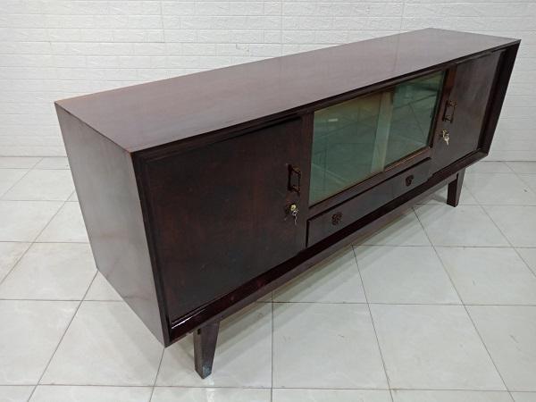 Tủ búp phê gỗ Gõ đỏ cũ SP007631