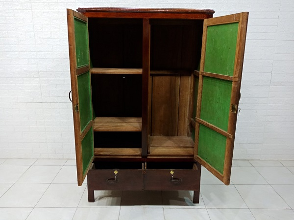 Tủ quần áo gỗ cũ SP007565