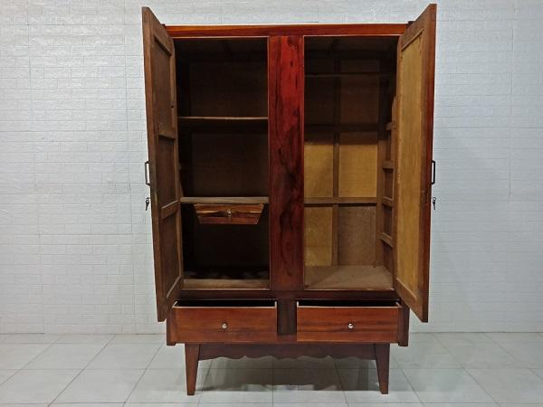 Tủ quần áo gỗ cũ SP007728