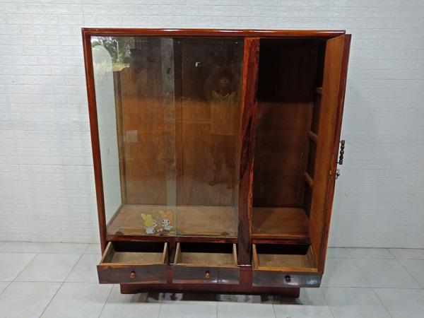Tủ quần áo gỗ Gõ đỏ cũ SP007569