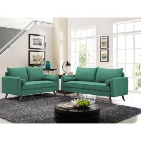 Băng sofa xanh mới 100% SP012820