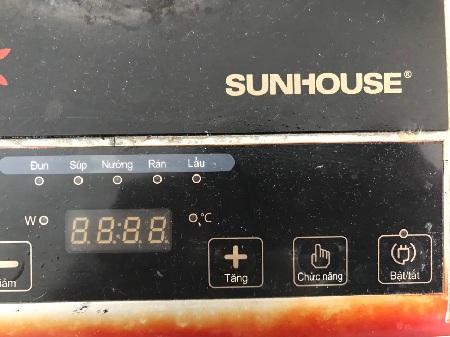 Bếp từ SUNHOUSE SHD6012 cũ SP012796