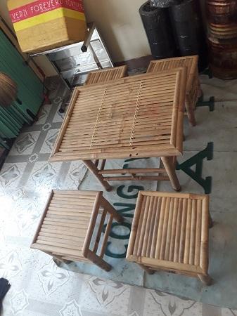 Bộ bàn cafe cũ SP012856