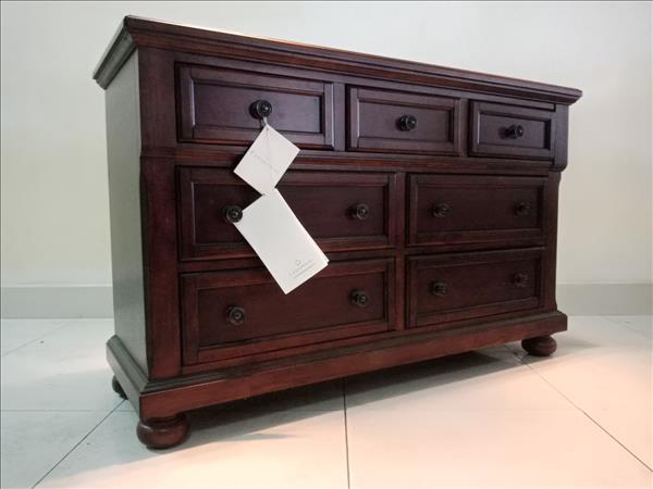 Tủ dresser gỗ tự nhiên cũ SP011432