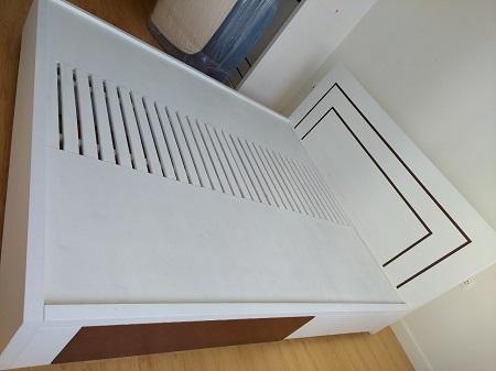 Giường  gỗ MDF cũ SP015646