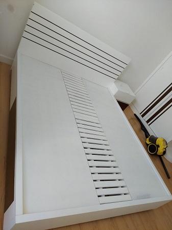 Giường  gỗ MDF cũ SP015647