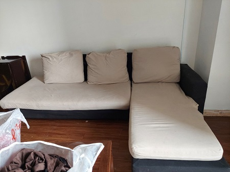 Bộ sofa nệm vải cũ SP015633