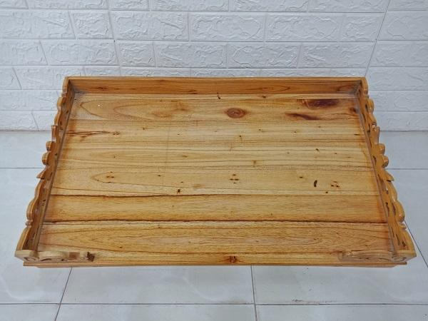 Bàn thờ gỗ cao su cũ SP007907