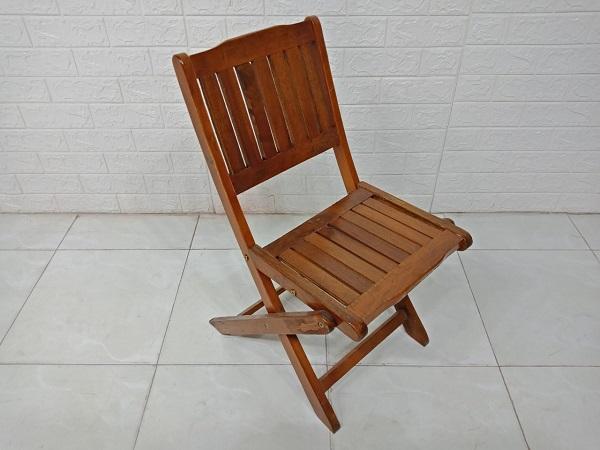 Ghế cafe gỗ thông cũ SP007863.1