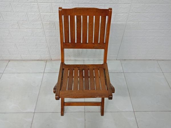 Ghế cafe gỗ thông cũ SP007863