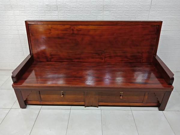 Ghế Trường Kỷ gỗ Gõ đỏ cũ SP007883.1