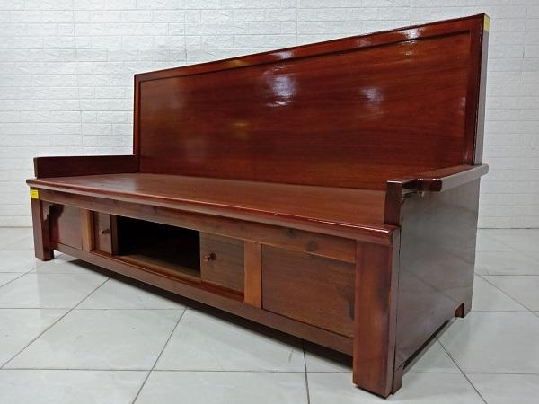 Ghế trường kỷ gỗ Xoan đào cũ SP007883