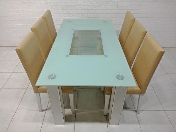 Bộ bàn ăn cũ SP007955