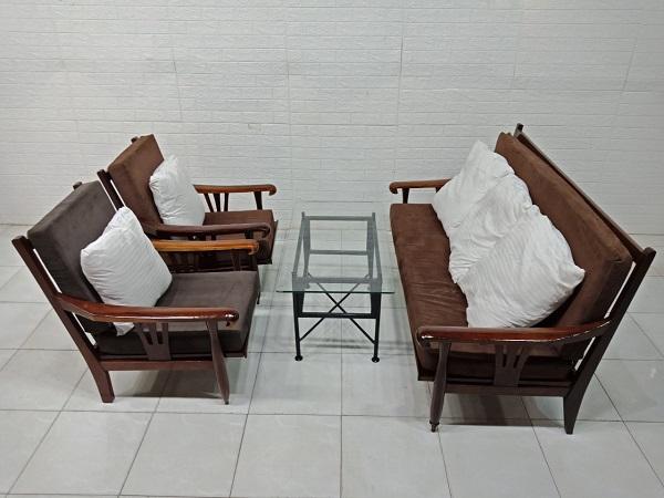 Bộ sofa gỗ Cẩm lai cũ SP007943.3
