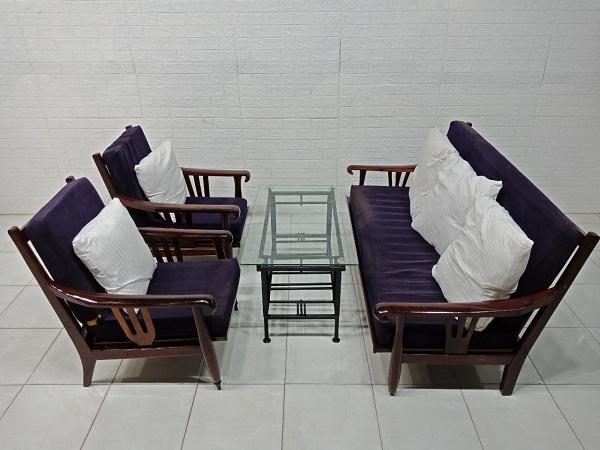 Bộ sofa gỗ Gõ đỏ cũ SP007943.4