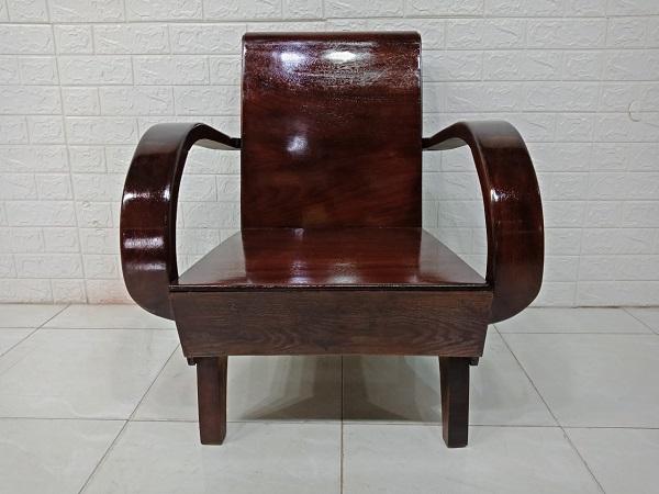 Ghế bàn trà gỗ Gõ đỏ cũ SP007944
