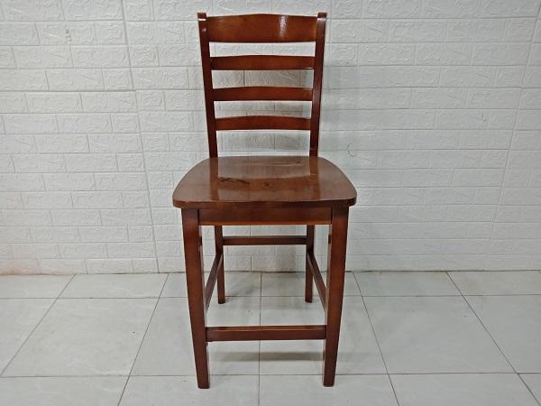 Ghế bar gỗ cao su cũ SP007534.2