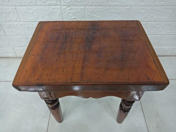 Ghế đôn bàn trà gỗ Gõ đỏ cũ SP007947.1
