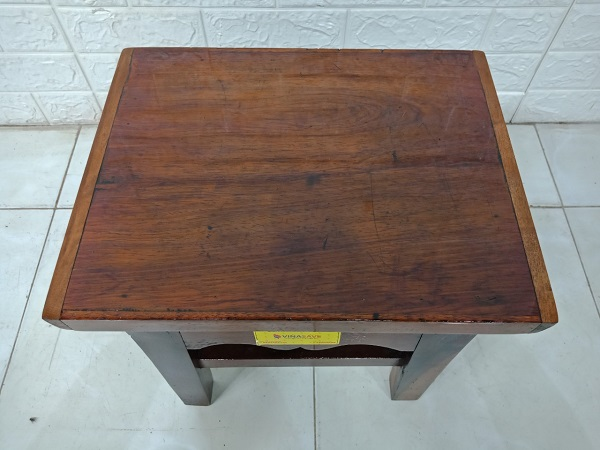 Ghế đôn bàn trà gỗ Gõ đỏ cũ SP007947.2
