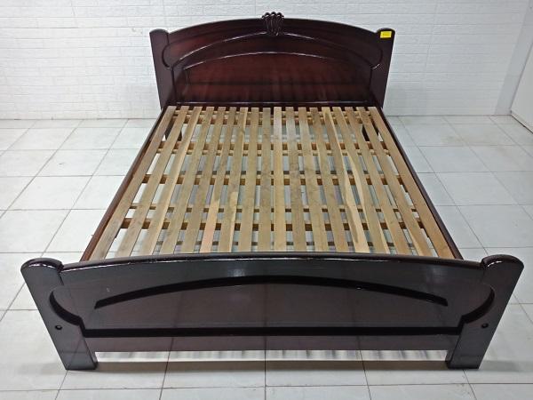 Giường gỗ cao su cũ SP008038.1