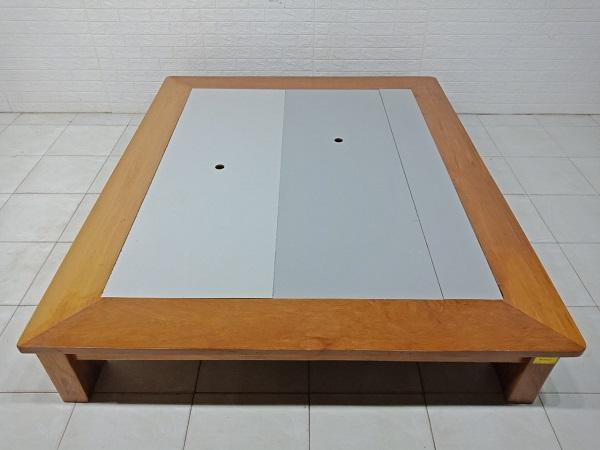 Giường gỗ Xoan đào cũ SP008051